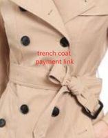 권위 있는! 여성 패션 잉글랜드 중간 긴 트렌치 코트 / 고품질 브랜드 디자인 더블 브레스트 트렌치 코트 크기 S-XXL 5 색