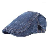 Bereliler Rahat Katı Bere Açık Giyim Direnci Yıkanabilir Moda Ayarlanabilir Kap Pamuk Düz Şapka Sürüş Hediye Erkekler1