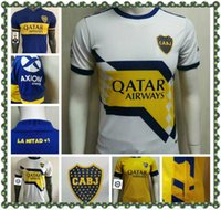 2020 2021 Top Boca Juniors soccer Jersey Home Away Player version GAGO OSVALDO CARLITOS PEREZ DE ROSSI TEVEZ PAVON JRS Men football shirt
