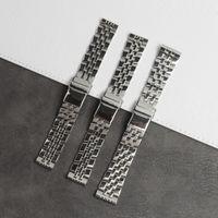 Wholesale bande de montre en acier inoxydable pour une dragande Ajust Breitling 20mm 22mm de 24mm 7mm Navitimer Navitimer Superocéen