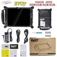 Novo EVG7 DL46 HDD500GB DDR4GB / 8GB Diagnóstico Controlador Tablet PC EVG7 Completo Compatível para ICOM para ICOM A2 MB Estrela C4 C51