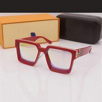 LOUIS VUITTON LV 2021 Neue Sonnenbrille Aviation Fahrtönen Männliche Frauen Sonnenbrille Für Männer Retro Günstige Original Strand Sachen mit Box GD