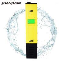 Metre 10 adet ATC PH Metre Yüzme Havuzu Su Testi Kalem Doğruluk 0.01 / Yeşil Arka Işık Sıcaklık Telafisi Fonksiyonu 31% Off1