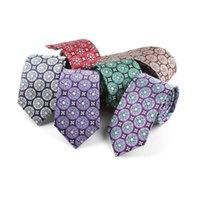 Nouveaux cravates en polyester de 6cm pour Mens de mariage longue cravate maigre cravate Jacquard Cravate classique Business Cravate de cou classique