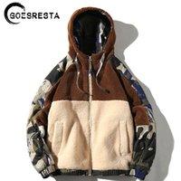 Goesresta Marka Yeni erkek Ceketler Streetwear Sonbahar ve Kış Vahşi Sıcak Moda Rahat Ultralight Ceket Ceket Erkekler 201120