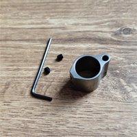 Blocco di gas in acciaio inox a basso profilo micro fucile da 0,75 pollici