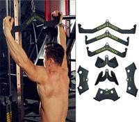 Fitness Poignées à la main pour la Lat Tirez la salle de gym Rowing Home Home Pully Câble Pièce jointe Biceps Triceps Back Blaster Bar Accessoires