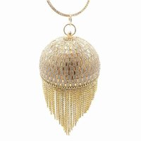 الكرة حقيبة اللؤلؤ حقائب الماس شرابة مأدبة براثن يدوية نوعية جيدة ل العرسان والسيدة في حفل زفاف مساء الاكريليك