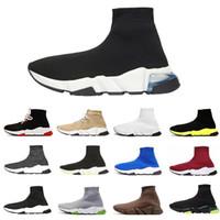 더 싼 새로운 양말 신발 속도 트레이너 남자 운동 신발 트레이너 양말 레이스 주자 여성 새로운 도착 스포츠 신발 크기 36-45