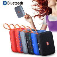 Mini TG506 Taşınabilir Bluetooth Hoparlör 6 Renkler HIFI Ses Müzik Çalar Kutusu Subwoofer Bas Hoparlör FM Radyo TF Kart Perakende Kutuları ile