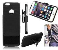 Para manzana iPhone XR Rugged Case Cinturón completo Cinturón de protección Cinturón Funda Padster Funda para iPhone 7 8 más No Pesado
