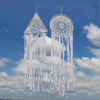 Dreamcatcher Tassel Dream Catche Dreamcatcher Fashion Feather Dream Catcher Pendente Pendente Appeso Decorazione auto Vento Chime FFB3759