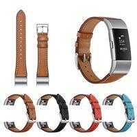 Дизайн V Кожаные полосы для Fitbit Charge 2 Замена Аксессуары Ремни Оручные полосы Женщины Мужчины Слесвальные Ремень