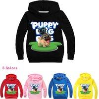 DLF 2-16Y Sweet Dibujos animados Postes Purs Hoodie Kids Kids Sudaderas para niños Sudaderas con capucha para niños Puppy Amigos Adolescentes Chicos Jumper LJ201216