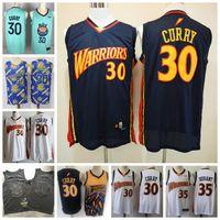 Homens Stephen 30 Curry Durant Mitchell Ness 2009-10 GoldenEstadoGuerreirosHardwoodJersey de basquete clássicos.