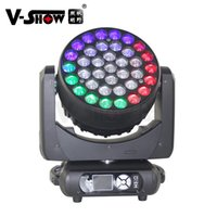 V-Show Europe Warehouse 37*15W Perfect Zoom Wash Beam Light Color LED Mixed Moving Head Lights For Night Club Party Events