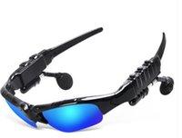 스마트 안경 고글 안경 사이클링 선글라스 승마 블루투스 이어폰 야외 스포츠 자전거 태양 유리 헤드폰