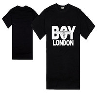 BOY LONDON T-SHIRTS 2018 Street Moda Moda de manga corta Eagle Patrón de impresión Camiseta de algodón Camisa de los hombres Envío gratis