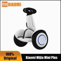 원래 Ninebot 샤오 미 Mijia 미니 플러스 자체 균형 스쿠터 두 바퀴 스마트 전기 호버 보드 스케이트 보드와 함께 앱 LED 호버 보드