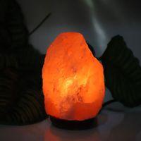 Groothandel Bestseller Premium Kwaliteit Himalaya Ionische Crystal Salt Rock Lamp met Dimmer Kabel Switch US Socket 1-2kg Nachtverlichting