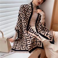 2020 écharpe d'hiver de luxe femmes châle châle wraps conception imprimer couverture chaude couverture colle crampons épaisses d'épaisseur