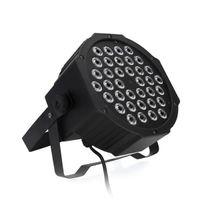 Venta caliente 36W 36-LED RGB Remote / Auto / Sound Control DMX512 Alto Brillo Mini DJ Bar Party Steter Lámparas * 4 Etapa de alta calidad Par luces