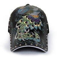 Lujo 3D Imprimir hombres Mujeres Béisbol gorra Dragón Skull Eagle Tigre Leopardo Graffiti Rivet Snapback Caps Punk Hip Hop Hat Art J1210