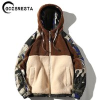Goesresta Marka Yeni erkek Ceketler Streetwear Sonbahar ve Kış Vahşi Sıcak Moda Rahat Ultralight Ceket Ceket Erkekler 201114