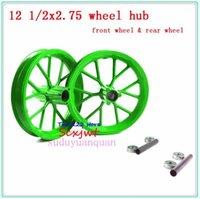 Мотоциклетные колеса шины 12.5 '' 49cc Dirt Bike Hub 12 1 / 2x2.75 (12.5x2.75) Мини-внедорожник Лия небольшое транспортное средство переднее и заднее колесо