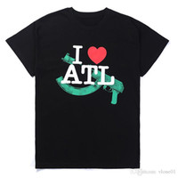 I LOVE ATL Short Sleeve Casual Stylist T Shirt High Quality ...