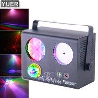2021 4in1 Волшебное мяч Эффект фонари DMX512 Party Show Лазерный проектор DJ Club Профессиональный Рождественский Свадебный Строб