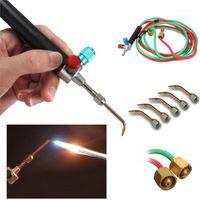 5 Suggerimenti in scatola Micro Mini Gas Little Torch Welch Saldatura Kit saldatura Rame e alluminio Gioielli Riparazione di gioielli Fare strumenti1
