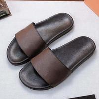 여자 남자 샌들 슬리퍼 고품질 해변 인과 남성 여성 슬리퍼 플랫 신발 슬라이드 EU : 35-45 상자 09