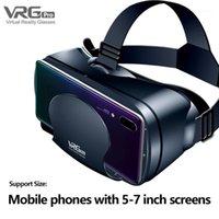 3D Gözlük Kulaklık Sanal Gerçeklik Gözlük Akıllı Telefonlar için Filmler Fotoğraflar Oyna1