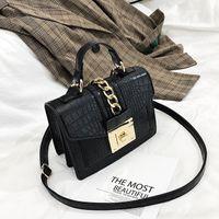 HBP 2021 New jacaré bolsas de ombro mulheres designers cadeia bolsas de luxo pu teatohr saco de crossbody para mulheres pequenas flap famale bolsas