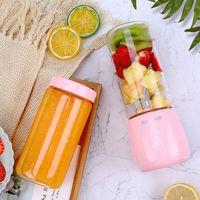 مصنع بيع مباشرة عصارة مصغرة، المحمولة عصير كهربائي خلط كوب، متعددة الوظائف USB شحن الفاكهة عصير كوب 2 الألوان المتاحة