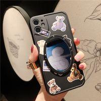 B40 étui en silicone durable pour iphone12 couvercle arrière de protection mignon