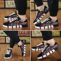 Men's Shoes 2019 New Spring New Men's Casual Shoes Canvas Sneakers Korean Sports Tide Male Student Shoes Size 39-44 XX-105-8