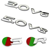 3.0 5.0 V6 V8 R-SPORT LETTRES LOGO EMBLEM Sticker en métal 3D pour Jaguar XF XE XJ F e i Pace S F D C E Styling de type