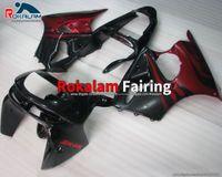 For Kawasaki Ninja ZX6R Fairing Kit ZX-6R ZX-636 98 99 1998 1999 ZX 6R 636 6 R ZX636 Red Flame Cheap Fairings Set