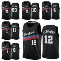 San AntonioEspuelasHombres 10 demarDEROZAN 12 LAMARCUSAldridge 2020/21 Swingman Basketball Jersey Icon Edition