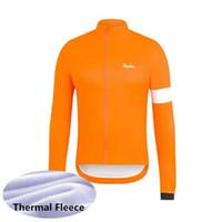 2020 Rapha equipe homens ciclismo jersey inverno térmico térmico manga comprida mtb camisa de bicicleta de bicicleta quente roupas de bicicleta ao ar livre uniforme de esportes y20032506