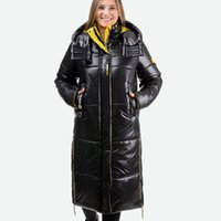 CEPRASK Новая зимняя куртка женщин плюс размер Модные женские зимние пальто с капюшоном ветрозащитный теплый пуховик Parka верхняя одежда 201119