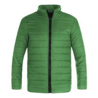 Moda Erkek Sıcak Ceket Kış ve Sonbahar Slim Fit Kış Fermuar Ceket Açık Yürüyüş Kamp Spor Pamuk Siper Giyim Palto
