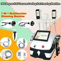 2020 Vendita calda Cellulite Machine Cryotherapy 360 gradi Cryo Dimagrante Macchina multifunzione Ultrasuoni RF Lipo Laser Cavitazione Mach