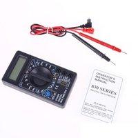 2021 Multimetro LCD Dijital Multimetre Voltmetre Ampermetre OHM Test Cihazı AC / DC 750/1000 V Gerilim Akım Metre