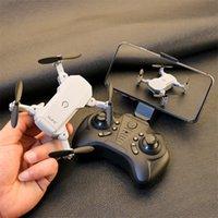 Quadrocopttre RC 4K RC S66 Mini Drone 4K avec caméra HD quad-compteur avec écoulement optique Dual Caméra Hélicoptère RC Drones pliables 201208