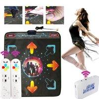 Capteurs de mouvement Pads de danse HD Wireless Single Mat Tapis TV et ordinateur Dual Usage Esterilla de Danza SomatoSensorial Cadeaux PVC Tools