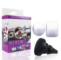 Auto Mount Air Vent Magnetico Universal Cell Phone Supporto per telefono Viaggi Accessorio universale Supporto in plastica con rotazione a 360 gradi
