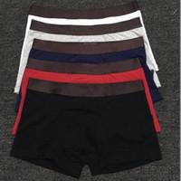 Moda para hombre ropa interior boxers breve pantalones cortos algodón hombres vintage sexy ropa interior casual shorts transpirable adulto masculino gay boxeador gay